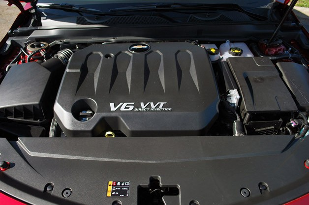 2014 Chevrolet Impala engine