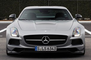 2014 Mercedes-Benz SLS AMG Black Series front view