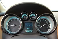 2013 Buick Verano Turbo gauges
