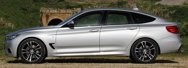 2014 BMW 3 Series Gran Turismo side view