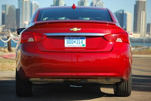 2014 Chevrolet Impala rear view