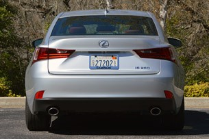 2014 Lexus IS350 F-Sport rear view