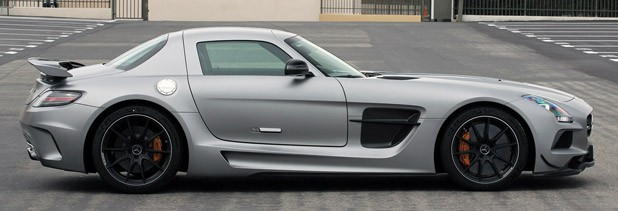 2014 Mercedes-Benz SLS AMG Black Series side view