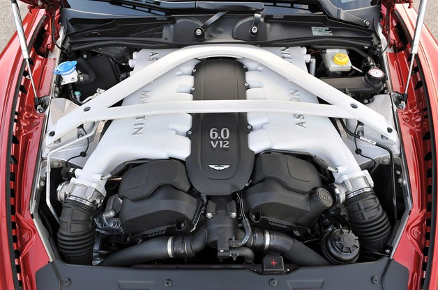 2014 Aston Martin Rapide S engine