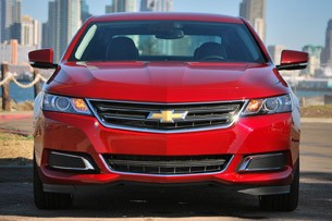 2014 Chevrolet Impala front view