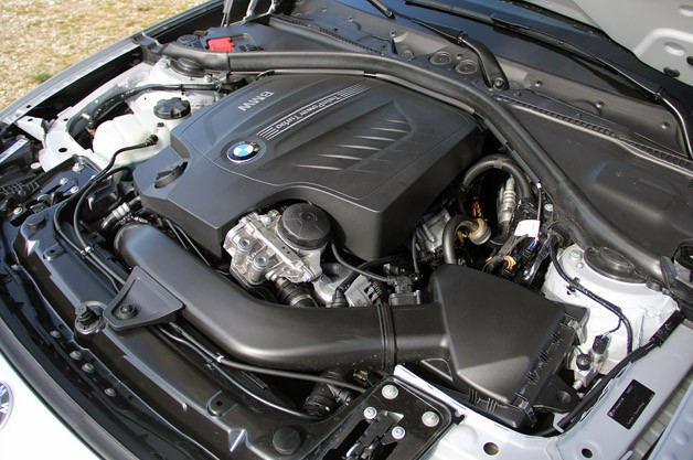 2014 BMW 3 Series Gran Turismo engine