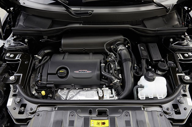 2014 Mini John Cooper Works Paceman All4 engine