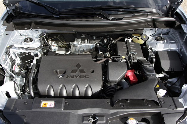 2014 Mitsubishi Outlander engine