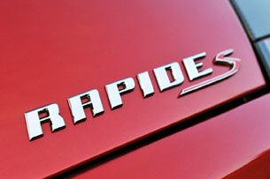 2014 Aston Martin Rapide S badge