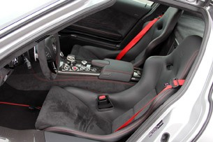 2014 Mercedes-Benz SLS AMG Black Series seats