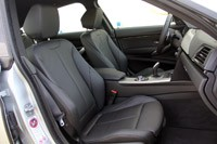 2014 BMW 3 Series Gran Turismo front seats