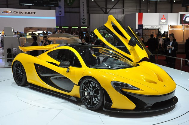 McLaren P1 live at Geneva Motor Show 2013
