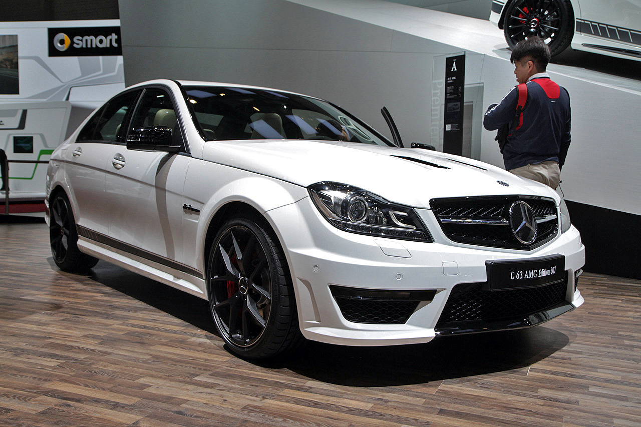 2014 mercedes benz c63 amg edition 507 still lights our