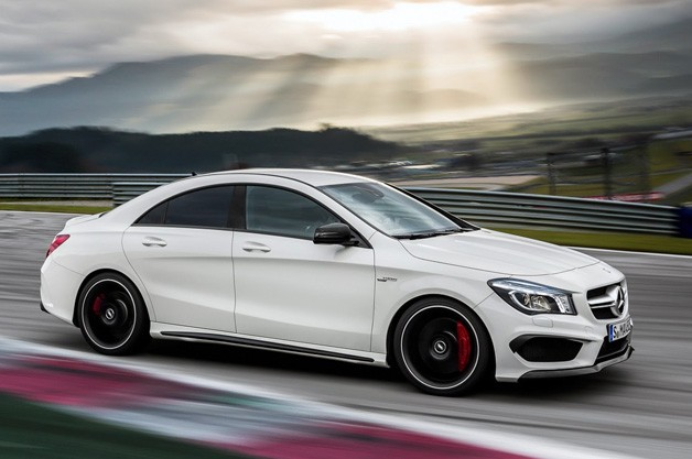 Mercedes-Benz CLA45 AMG