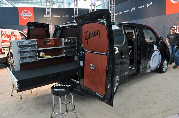 Gibson NV200 Mobile Repair & Restoration Van