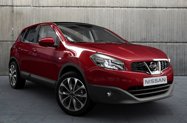 Nissan Qashqai removing Juke-R treatment