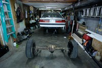 Removing Ford 7.8 Solid Axle