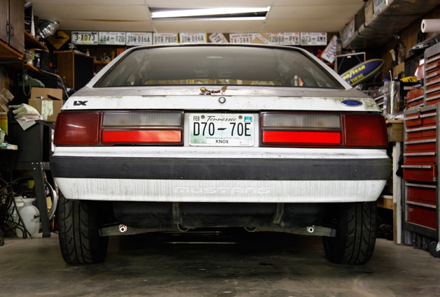 Cobra IRS into Ford Foxbody Mustang