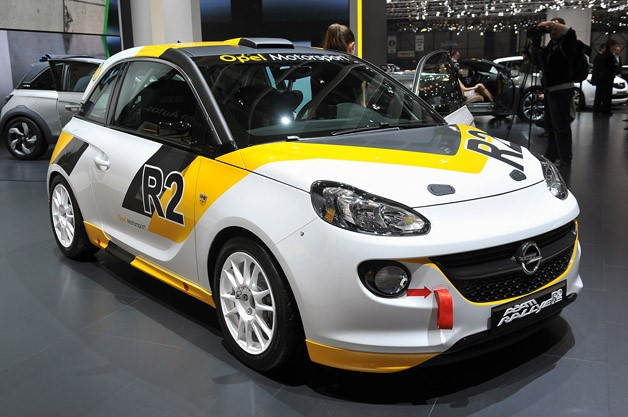 Opel Adam R2 Rally Car