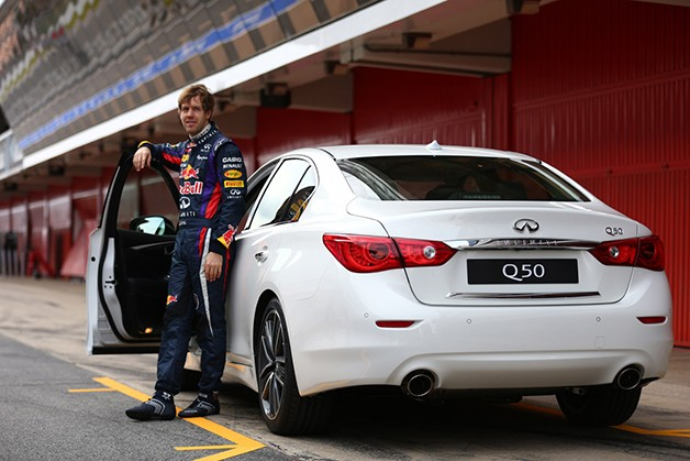Infiniti hires Sebastian Vettel as Director of Performance