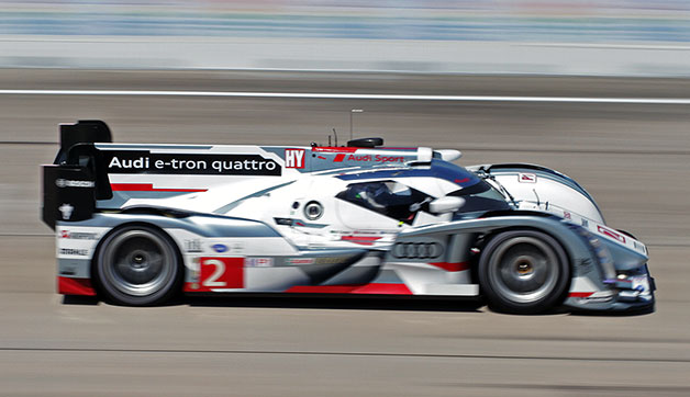 2013 Twelve Hours of Sebring with Audi