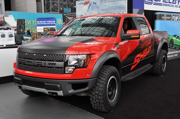 Shelby-tuned 2013 Ford F-150 SVT Raptor - live at New York Auto Show reveal