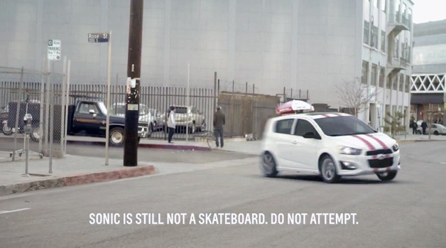Chevy Sonic video