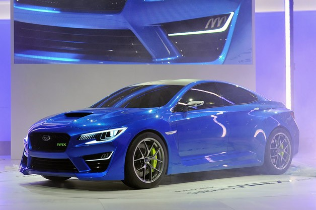 Subaru WRX Concept hints during large performance, offers couple of contribution [w/video]