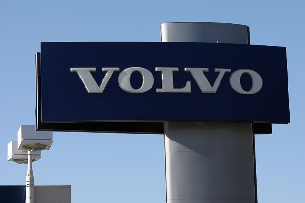 Volvo dealer sign