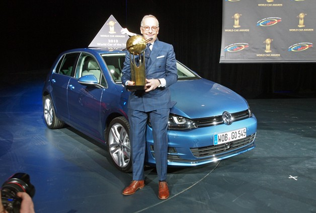 Volkswagen Golf wins 2013 World Car of the Year