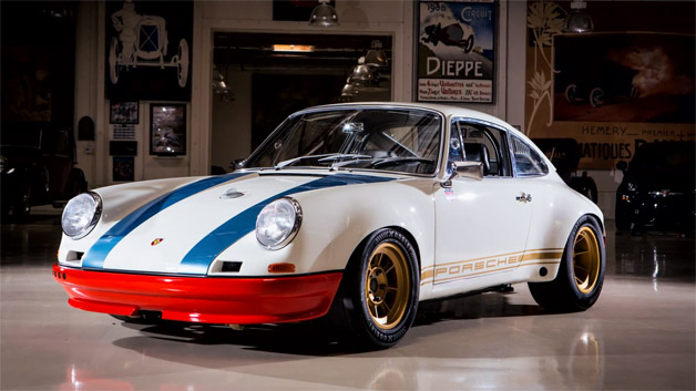 Magnus Walker's 1972 Porsche 911 72STR pictured in Jay Leno's Garage
