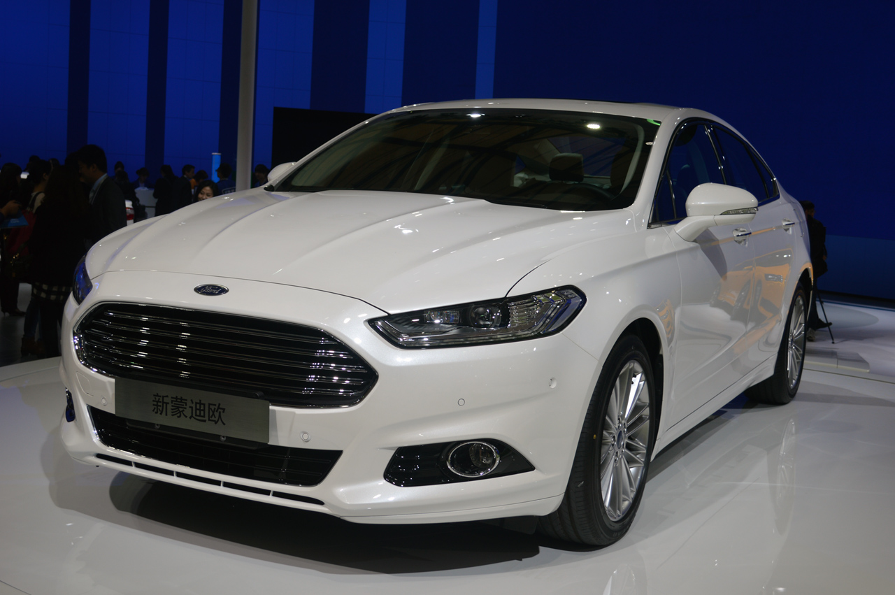 2013 Ford Mondeo Ecoboost 1 5 Shanghai 2013 Photo Gallery