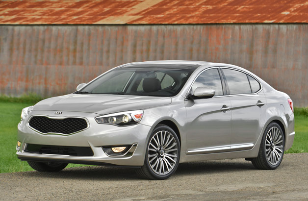 2014 Kia Cadenza goes upon sale this month labelled from $35,100*