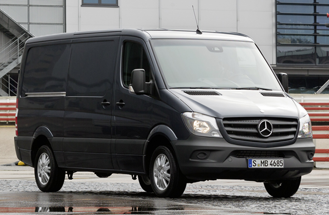mercedes benz releases us spec 2014 sprinter details. Black Bedroom Furniture Sets. Home Design Ideas