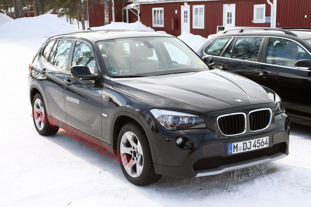 BMW X1 EV/Hybrid spy shots