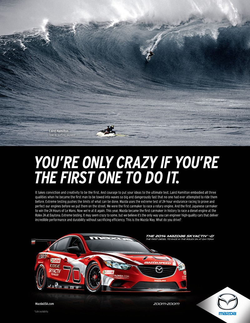 Mazda Reveals New Game Changers Advertising Campaign