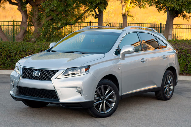 2013 Lexus RX 350 F Sport - front three-quarter view