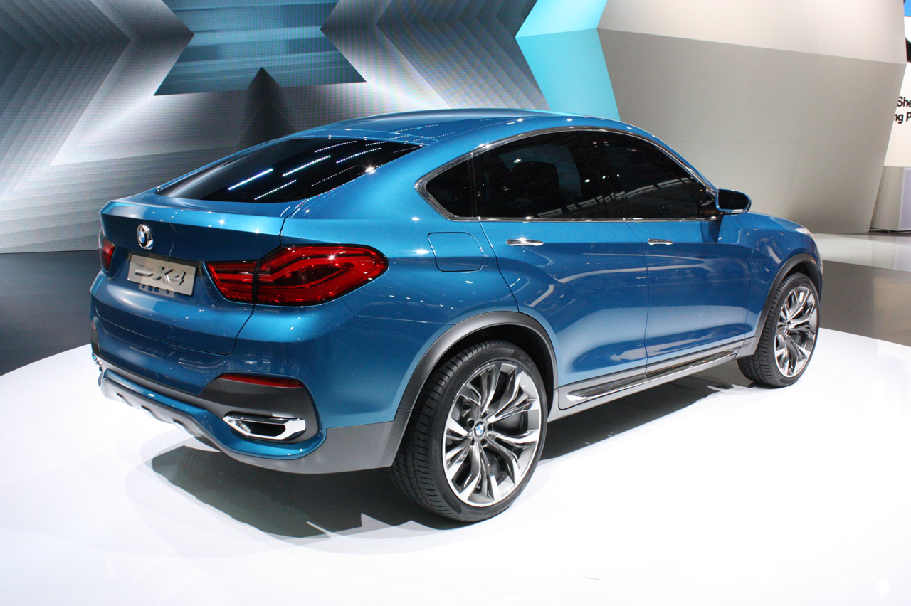 bmw x4 concept shanghai 2013 photo gallery autoblog. Black Bedroom Furniture Sets. Home Design Ideas