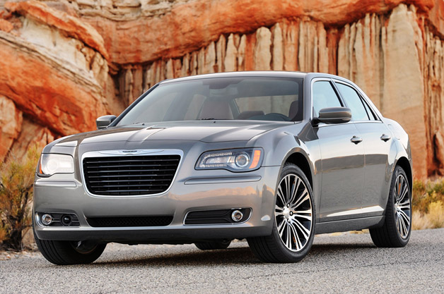 2012 Chrysler 300 S - front three-quarter view