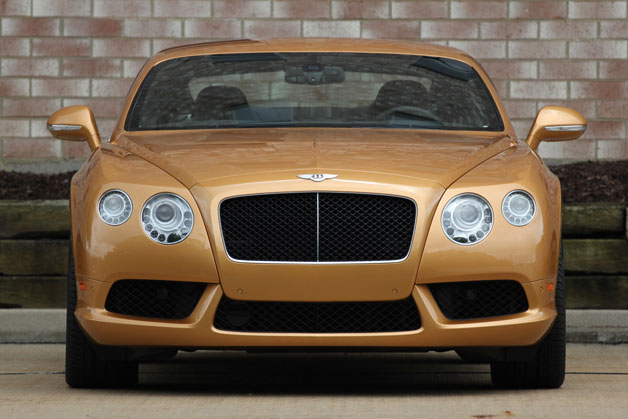 Bentley staid to stick on four-door coupe game?