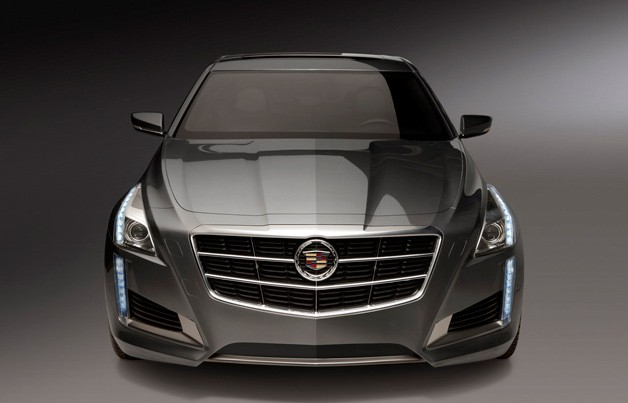 2014 Cadillac CTS - dead-on view