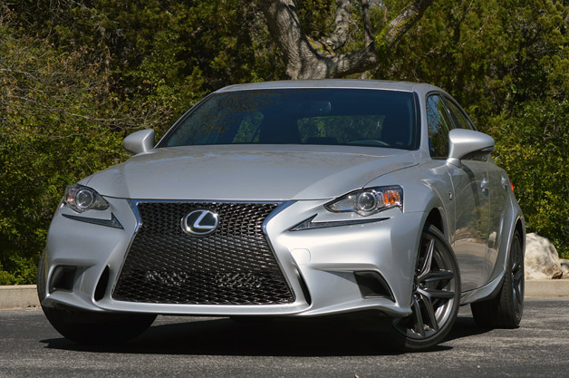 2014 Lexus IS350 F-Sport - front three-quarter view
