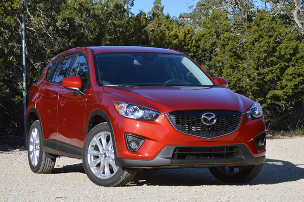 2014 Mazda CX-5 - front three-quarter view