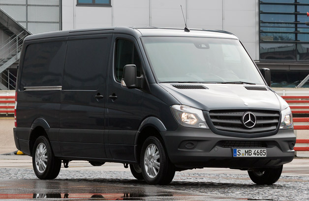 2013 Mercedes-Benz Euro-spec Sprinter van