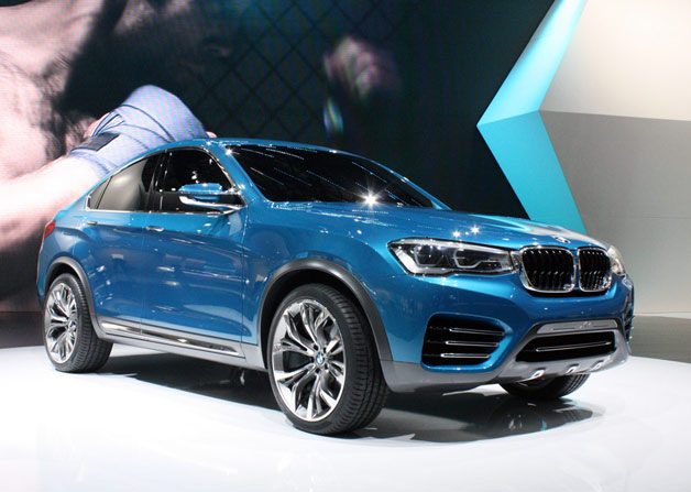 BMW X4 Concept reveal live at 2013 Shanghai Motor Show
