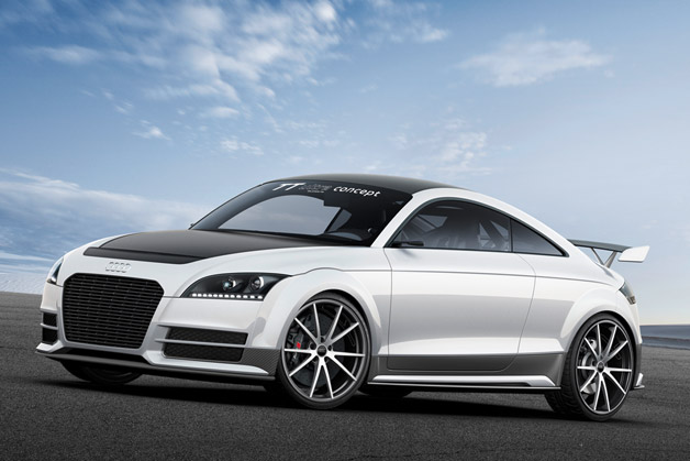 Audi TT ultra quattro concept - front three-quarter view
