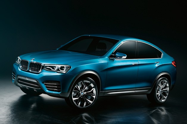 BMW X4 Concept - front three-quarter studio view