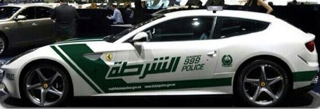 Dubai Police Department Ferrari FF