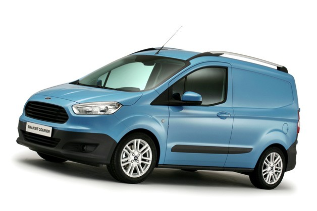 Courier completes Ford's new commercial van line, will we get it