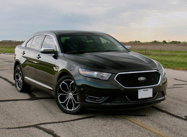 Hennessey Ford Taurus SHO MaxBoost 445 - front three-quarter view